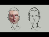 Как рисовать уши (разбор)  Anatomy Quick Tips Ears