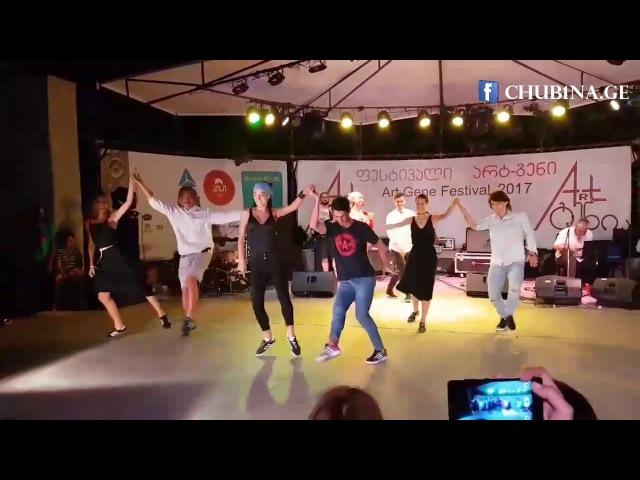✔ ანსამბლი სუხიშვილები ცეკვა თამაში Ensemble Sukhishvili am