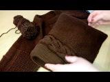 Мужской пуловер из Ализе Ланаголд классик регланом сверху Часть 3 рукав