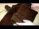 Мужской пуловер из Ализе Ланаголд классик регланом сверху / Часть 3:  рукав