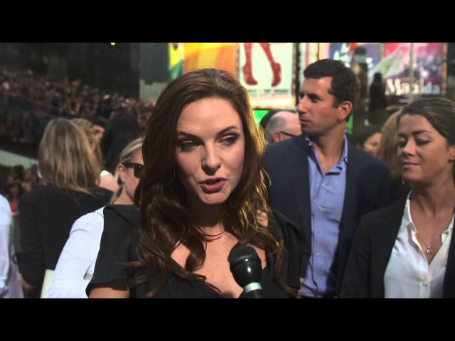 Mission: Impossible: Rogue Nation: Rebecca Ferguson New York Movie Premiere In