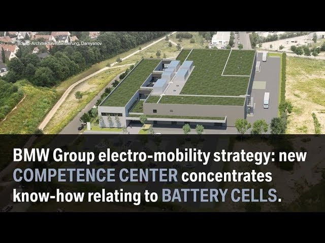 New Competence Centre For Battery Cells - BMW Group
