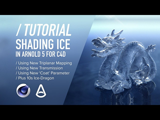 ( / ) C4D Arnold TUTORIAL - Shading Realistic Ice