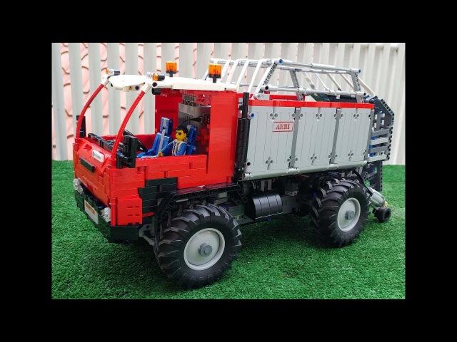 Aebi TP460 Lego Technic RC ladewagen