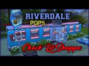 The Sims 4- RIVERDALE'S DINER FIRST EVER COMMENTARY!!