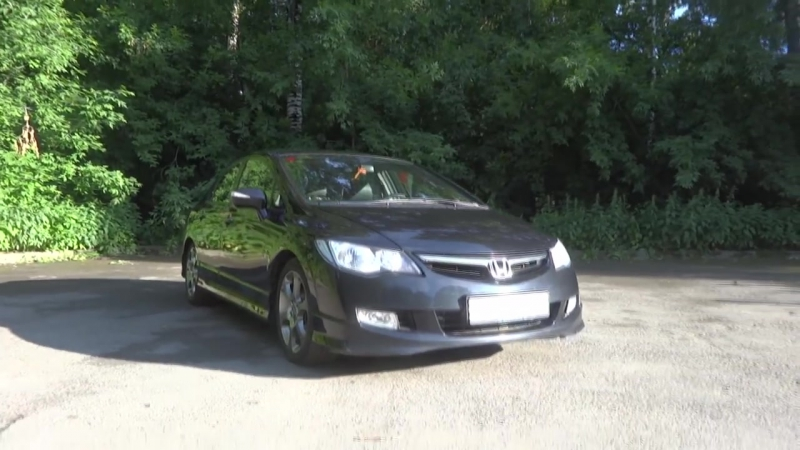 Тест - Обзор Honda Civic 8 Hybrid