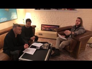 Прямая трансляция с The Rasmus (30 января в 20:20).