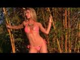 Kaylin в оранжевом бикини