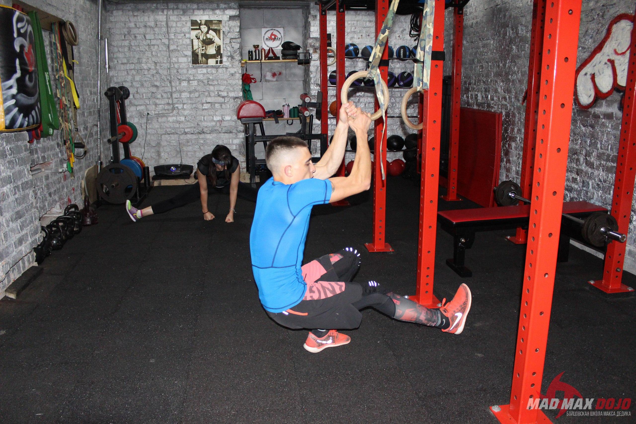 функциональный тренинг MAD MAX DOJO
