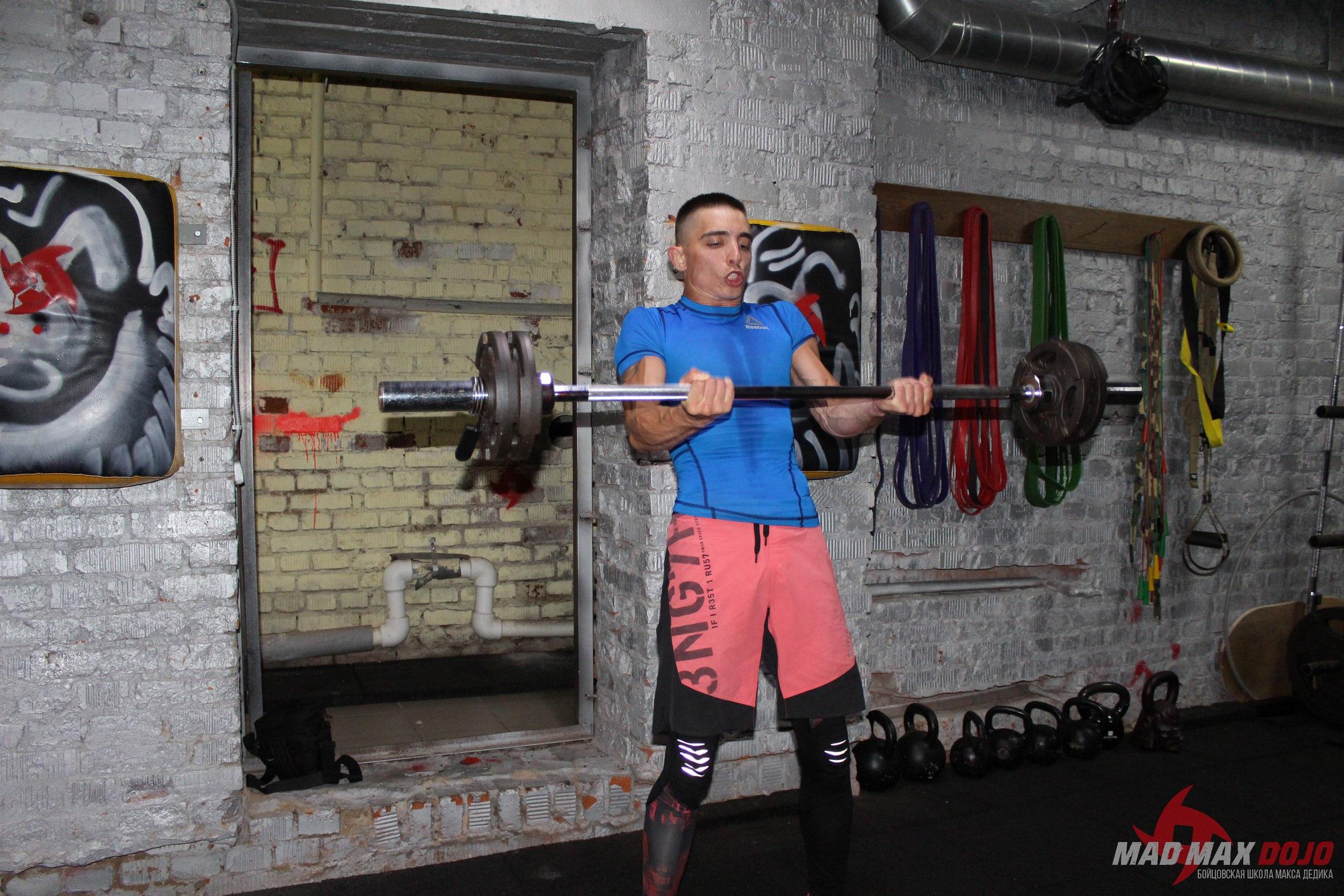 функциональный тренинг для бойцов