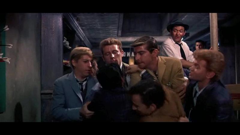 ВЕСТСАЙДСКАЯ ИСТОРИЯ (1961) - мюзикл, мелодрама, криминальная драма. Роберт Уайз [DIVX 1080p]
