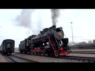 Steam Locomotive Паровоз Л-2057 27.11.11