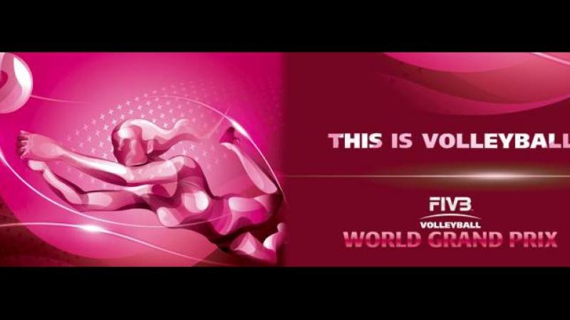 Волейбол Мировой Гран-При Китай-Сербия женщ