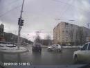 Авария круг Доваторцев-Шпаковская 20.01.18