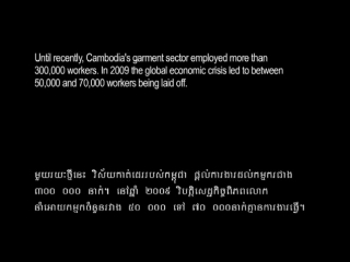 Cambodia´s Garment Industry (Documentary
