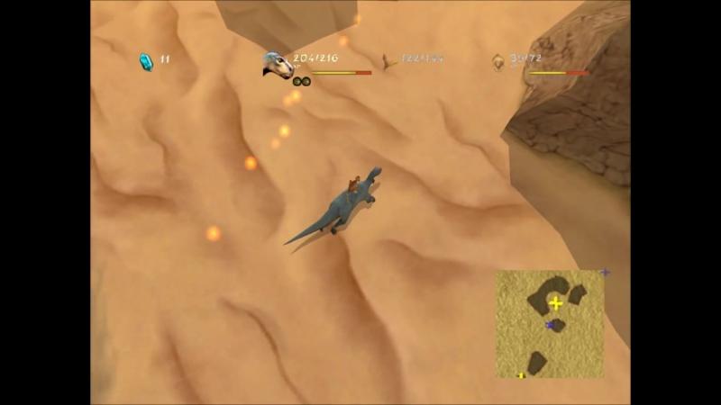 Дисней Динозавр Disney Dinosaur PC game walkthrough - Mission 3