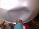 Как выпрямить вмятину на бампере с помощью фена