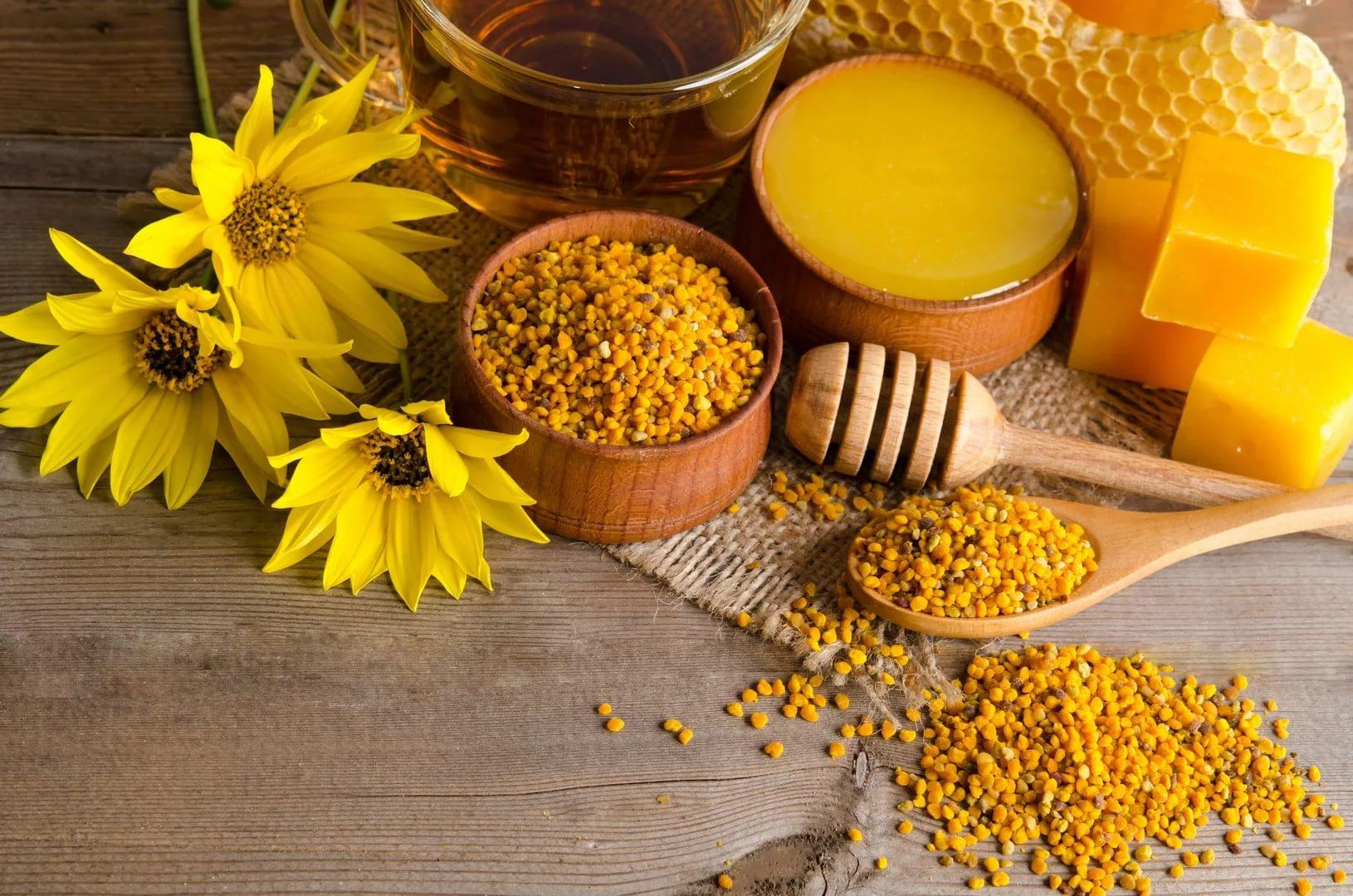 Пчелиная пыльца в медицине