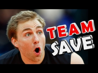 Top 10 volleyball digs - team save - volleyball highlights