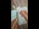 Видео обзор открытки Там, где живёт любовь... 💞💞💞