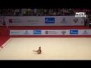 Арина Аверина булавы квалификация Гран-При Москва 2018