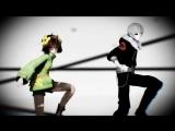 【MMD】Monster Remix { Undertale AU } [ Chara  Sans ]