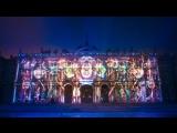 Фестиваль света на Дворцовой площади.