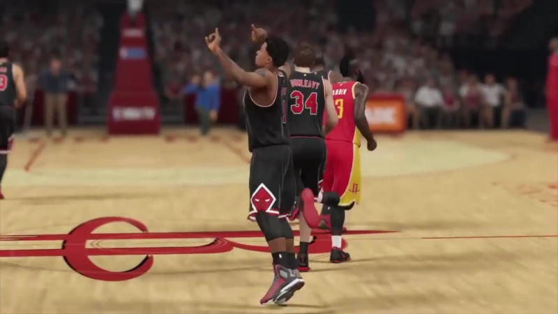 Sim Sports What If Derrick Rose Never Got Injured WELL THOUGHT OUT AND CPU SIMULATED