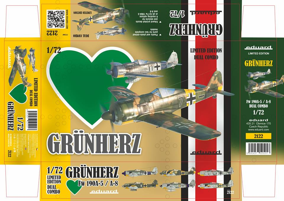 online store e9d17 65485 ... the Fw 190A-5 and A-8 machines from Jagdgeschwader 54. Author of the  box-art is Martin Lébl. Janury new release in the Limited edition, cat. no.  2122.