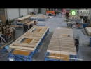 Uuesalu prefab semi-detached houses - manufacturing and installation