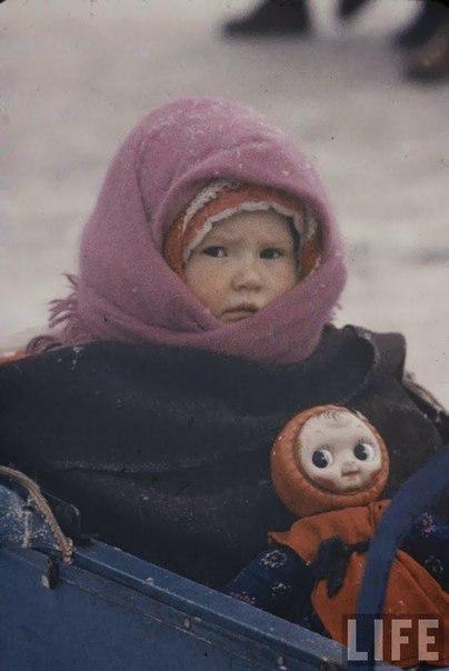 Фотографии 1960 года: маленькие жители Москвы