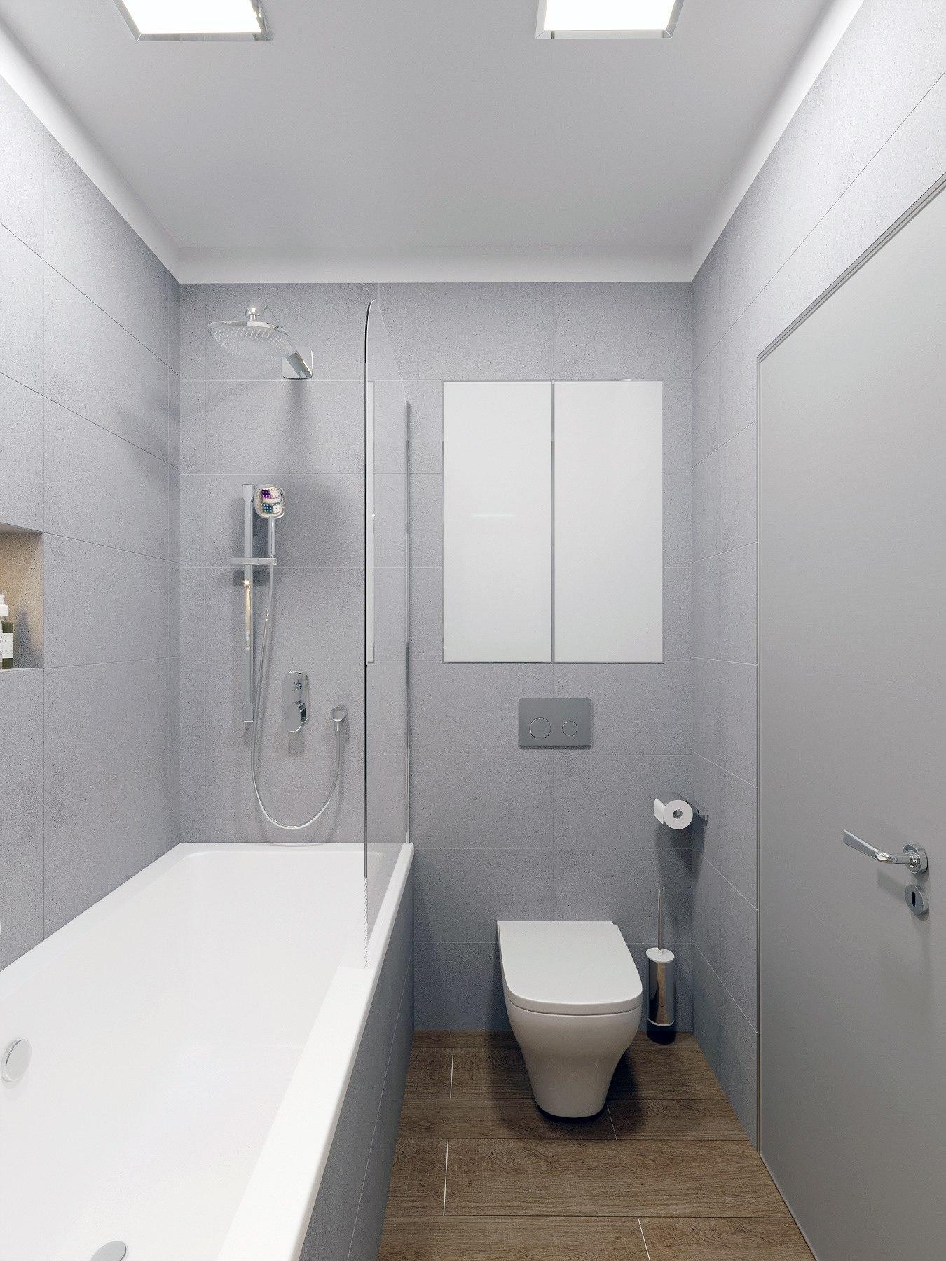 Интерьер квартиры-студии 35 м2 с выраженным мужским характером.