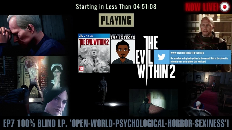 The Evil Within 2 100% Blind Nightmare Difficulty - Chapter 3 - Resonances Pt 5 - EP 7