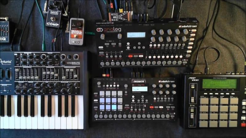 Enigmatik Dub - OpSession (Elektron Analog Four Analog Rytm Arturia Minibru
