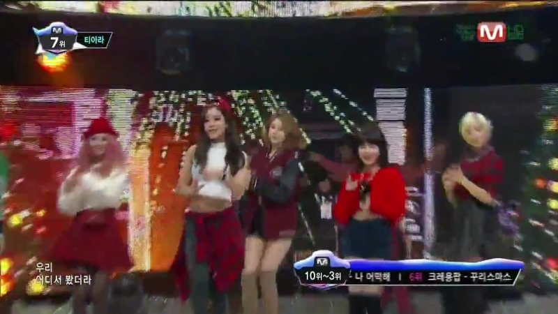 131219 T-ARA - What Do I Do @ M!Countdown