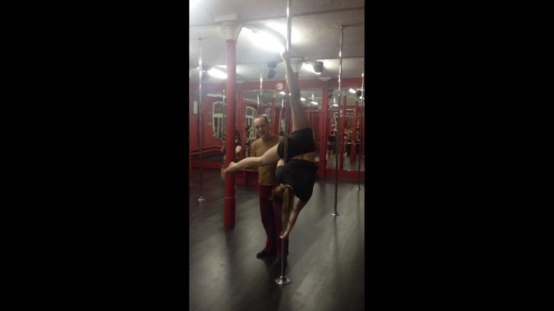 Джен эйр - pole dance.