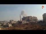 Сирийские войска прорвали окружение военной базы в пригороде Дамаска