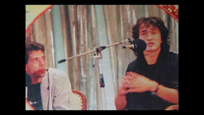 Аудио Пресс конференция фильма Игла Одесса 1988 год