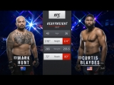 UFC 221 Mark Hunt vs Curtis Blaydes