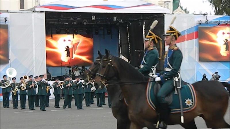Кадеты - Георгиевцы и Президентский полк Почётного караула.