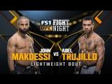 UFC FIGHT NIGHT WINNIPEG John Makdessi vs Abel Trujillo