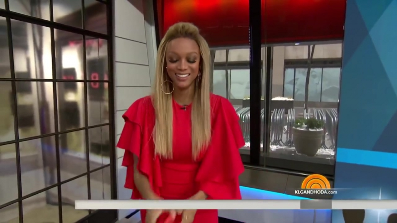 Tyra Banks Talks About 'America's Next Top Model' And The Golden Globes _ TODAY