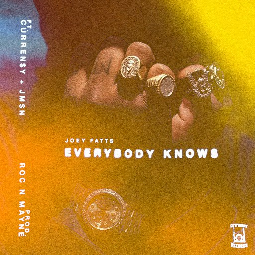 Joey Fatts альбом Everybody Knows (feat. Curren$y & JMSN)