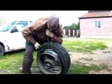 Самая жёсткая бортировка колеса