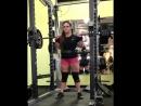 Аманда Лоуренс,  приседания 191 кг на 3 раза