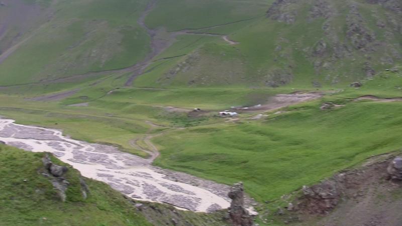 панорама альплагерь