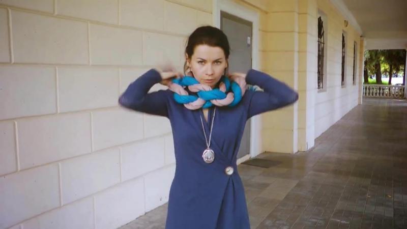 Как завязывать шарфики