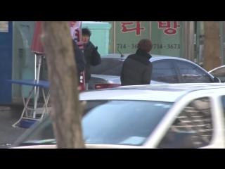 BTS со съёмок дорамы Овощной магазин холостяка (5)