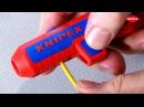 KNIPEX ErgoStrip Universal Abmantelungswerkzeug Werkzeug TV