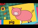 How To Draw A Pig Simple Drawing Lesson for Kids Step By Step